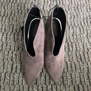 NWT Taupe Ankle Boots